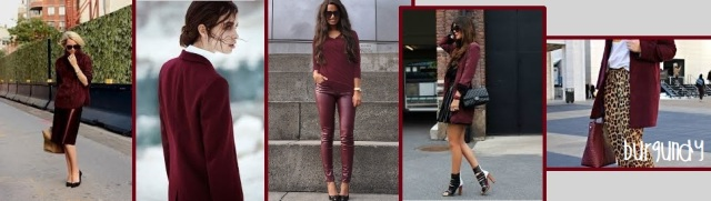 burgundy bordeaux trend report a/w f/w 2013 2014 fashion