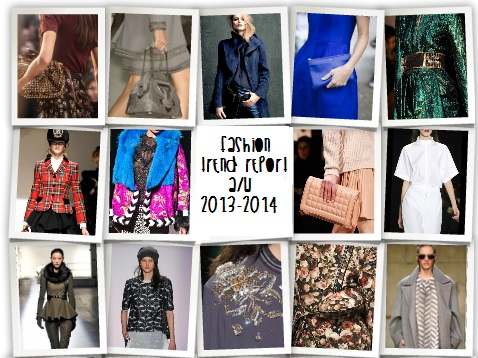 Trend report aw 2013 2014